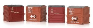 Bachmann 36-071 Type A Conflat Containers (x4)